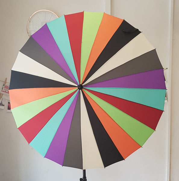 Multi-coloured Umbrella