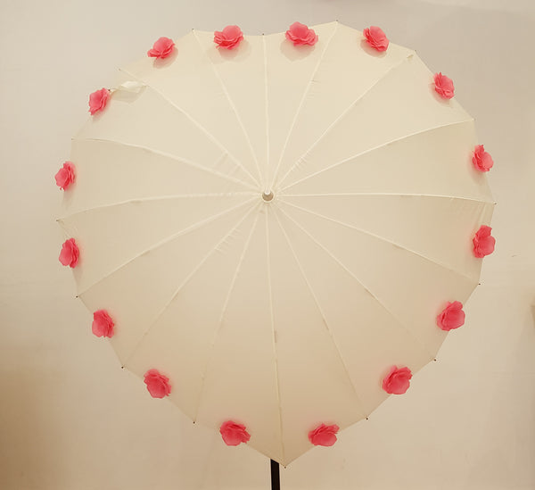 Flower Heart Umbrella