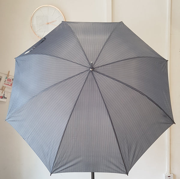 Mens' Pinstripe Golf Umbrella