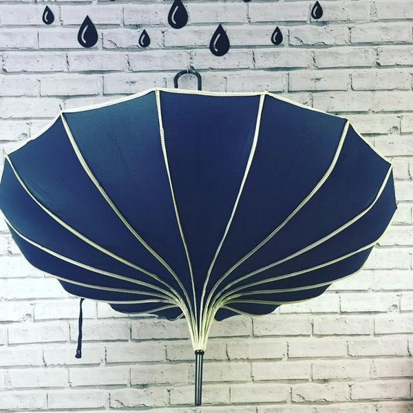 Ribbed Pagoda Umbrella