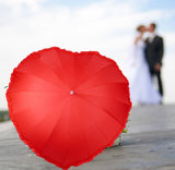 Heart Shaped Umbrella - Heart Umbrella - Love Umbrella