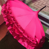 Frilled Pagoda Umbrella