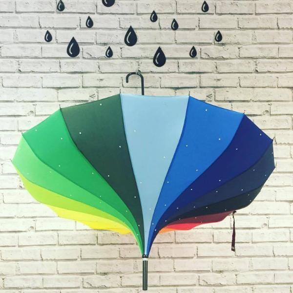 Rainbow Sparkle Umbrella