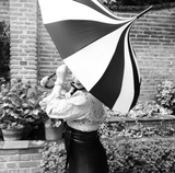 Monochrome Pagoda Umbrella Hire x10 umbrellas