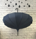x30 Plain Pagoda Umbrellas for umbrella display