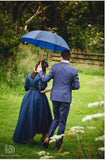 Wooden Handle Umbrella - available in 10 colours