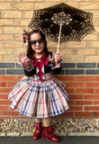 Children's Lace Parasol - 3 colours