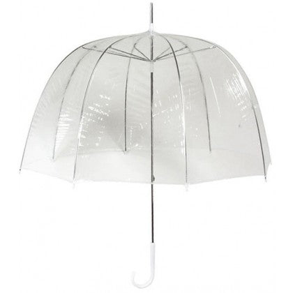 Wedding Umbrella Hire x10 Clear Dome Umbrellas