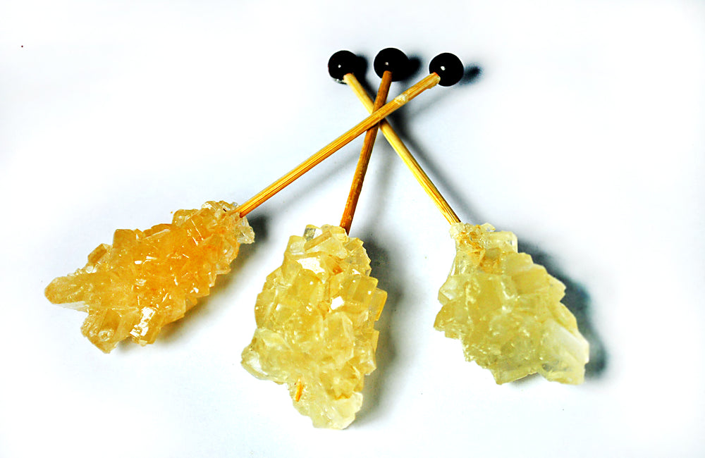 Sugar Sticks Brown - Swizzle Sticks, 80g (8pc each 10g)