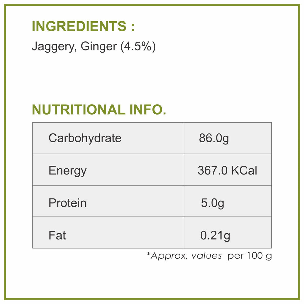 Ginger Jaggery Powder - 300g