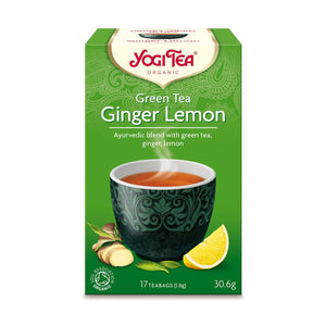 Organic Ginger Lemon Green Tea 17bag