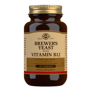 Brewer's Yeast with Vitamin B12 - 250 Tablets