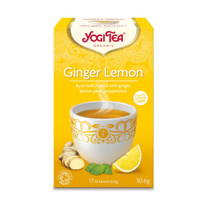 Organic Ginger Lemon Herbal Tea 17bag