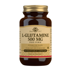 L-Glutamine 500 mg - 50 Vegetable Capsules