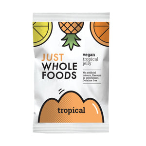 Just Wholefoods Organic Tropical Real Fruit Flavoured Jelly Crystals 3.00 oz