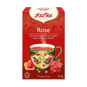 Organic Rose Herbal Tea 17bag