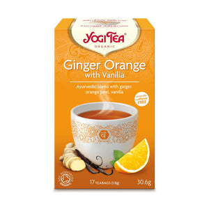 Organic Ginger Orange with Vanilla Herbal Tea 17bag