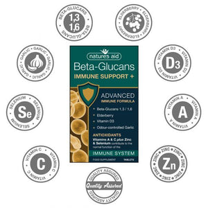 Beta-Glucans Immune Support + 30capsules