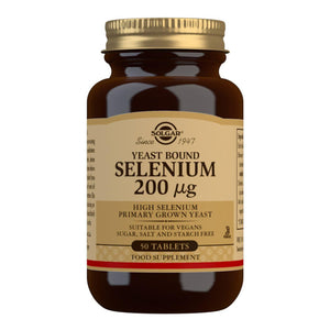 Yeast Bound Selenium 200 µg - 50 Tablets