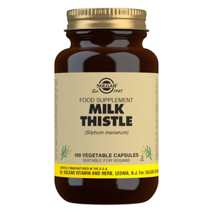 Milk Thistle - 100 Vegetable Capsules