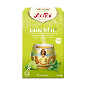 Organic Lime Mint Herbal Tea 17bag