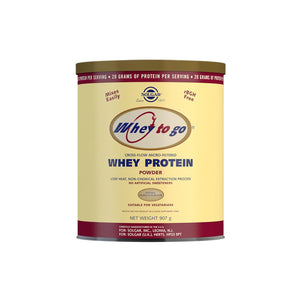 Whey To Go Vanilla Flavour Protein Powder 907 g