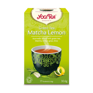 Organic Matcha Lemon Tea Green 17bag