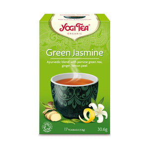 Organic Green Jasmine Tea 17bag