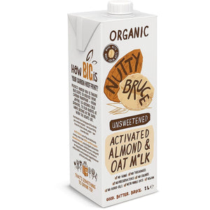 Organic Activated Almond Oat Milk 1L