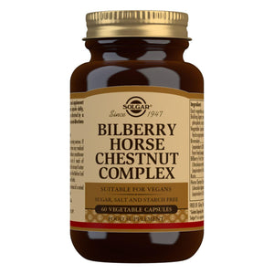 Bilberry Horse Chestnut Complex - 60 Vegetable Capsules