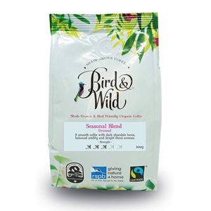 Organic Coffee Seasonal Blend Ground 200g