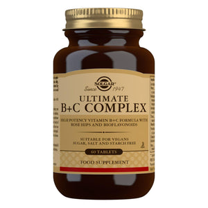 Ultimate B+C Complex - 60 Tablets