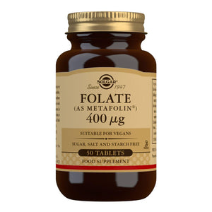 Folate (as Metafolin®) 400 µg - 50 Tablets