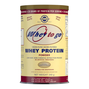 Whey To Go Vanilla Flavour Protein Powder 340 g