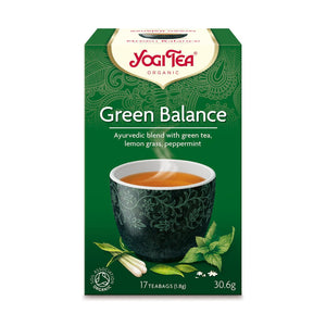 Organic Balance Tea Green17bag
