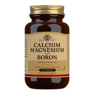 Calcium Magnesium Plus Boron - 100 Tablets