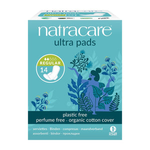 Cotton Ultra Pads 14 Regular Flow