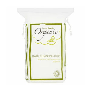 Organic Baby Cleansing Pads 60 Pieces