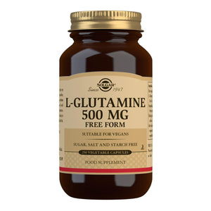 L-Glutamine 500 mg - 250 Vegetable Capsules