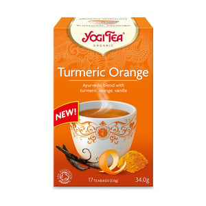 Organic Turmeric Orange Spice Tea 17bags