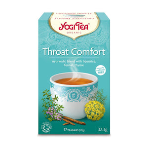 Organic Throat Comfort Herbal Tea 17bag