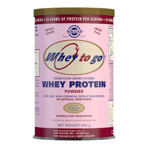Whey To Go Strawberry Flavour Protein Powder - 454 g