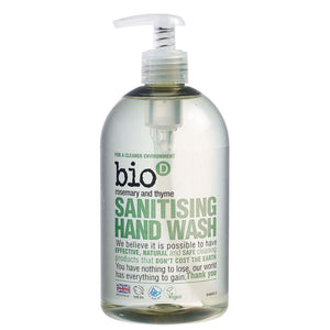 Rosemary and Thyme Hand Wash 500ml
