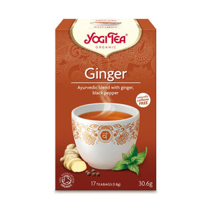 Organic Ginger Herbal Tea 17bags
