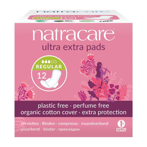 Cotton Ultra Extra Pads 12 Normal