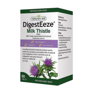 DigestEeze 150mg Milk Thistle 60 Tablets