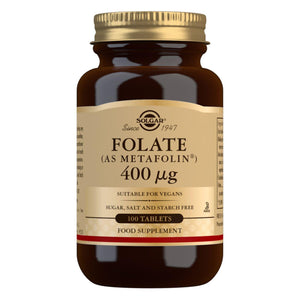 Folate (as Metafolin®) 400 µg - 100 Tablets