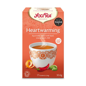 Organic Heartwarming Herbal Tea 17bag