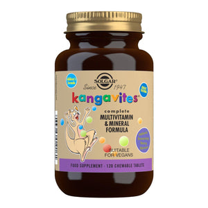 Kangavites Bouncing Berry Complete Multivitamin and Mineral Formula - 120 Chewable Tablets