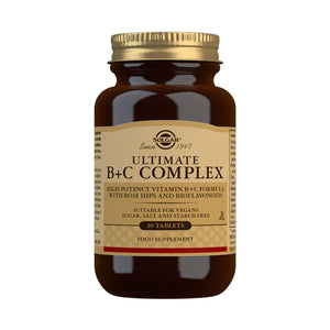 Ultimate B+C Complex - 30 Tablets